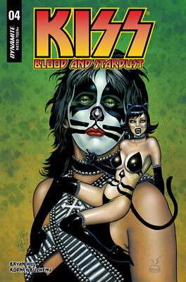 KISS BLOOD AND STARDUST #4 JIM BALENT JETPACK/FP EXCLUSIVE VARIANT Dynamite