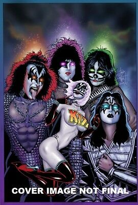 Kiss Blood And Stardust #5 Jim Balent Jetpack/fp Excl Virgin Variant Preorder