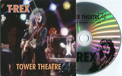 Marc Bolan / T.rex : 'tower Theatre 1974' - Easy Action Promo Cd (Part Of Set)