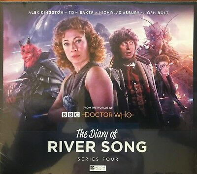 The Diary Of River Song Series 4 Big Finish Audio Plays Alex Kingston Tom Baker