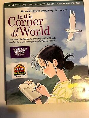 In This Corner Of The World*blu-Ray + Dvd + Digital Download* Rare* Ships Free