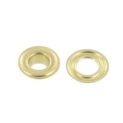 Grommets And Washers Brass #0 – 144 (One Gross)
