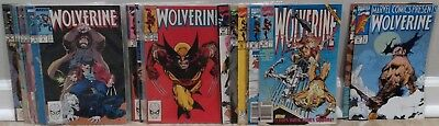 Wolverine & Marvel Comics Presents: Wolverine 24 comic lot (Marvel, 1991-1992)
