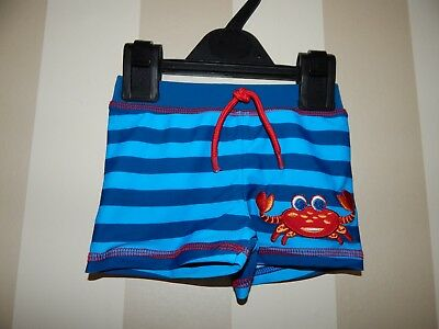 Baby Boys Swimming Trunks  Size 6-9 Months ~ Vgc ~ From Mothercare ~ Ref Box A11