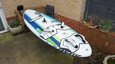 Fanatic & North Sails - Windsurf Package, Board and Sails - COLLECT POOLE DORSET