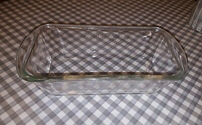 Original Glasbake Glass Pyrex Dish for Philips Hostess Trolley
