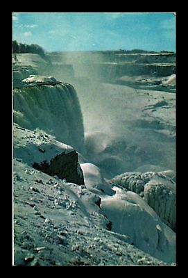 Dr Jim Stamps Us Frozen Prospect Point Niagara Falls New York Postcard