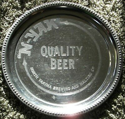 N - Yak Quality Beer, North Yakima Brewing and Malting Co. Pre-prohibition tray