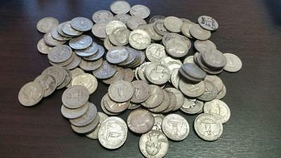 $3 Face Value Washington Quarters 90% Silver { Lot of 12 Coins } Free Shipping!!