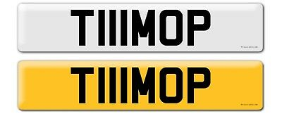 Tim Number Plate T111 MOP
