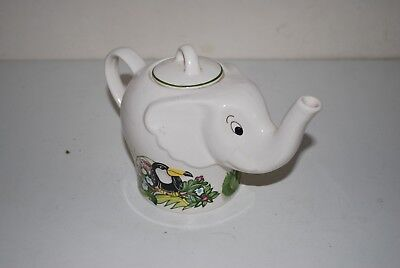 Vintage Wade Jungle Fuzz Boots Teapot
