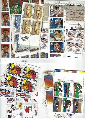 3 Stamp combo Postage for 20 First Class letters Face $11 (new 55c rate)