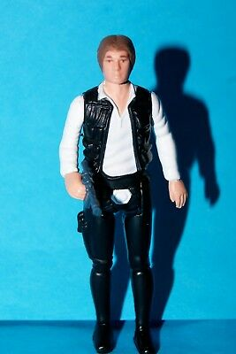 Star Wars Potf-2 Han Solo Classic Loose Complete Toys R Us Exclusive