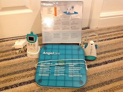 Angelcare Baby Monitor AC401 Monitors Breathing, Room Temperature & Heartbeat