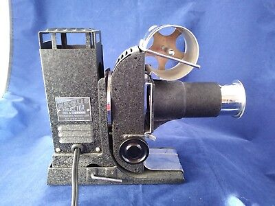 Vintage Argus Slide and Filmstrip Projector with bonus Keystone movie camera