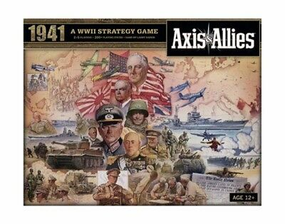 Wizards of the Coast HAS396870000 Axis and Allies 1941 Board Game