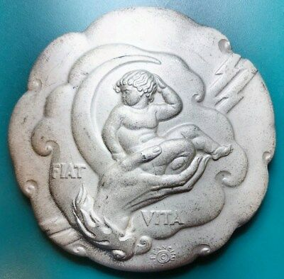 "1935 Medallic Art Company - The Society of Medalists - ""Fiat Vita"" Original 72mm"