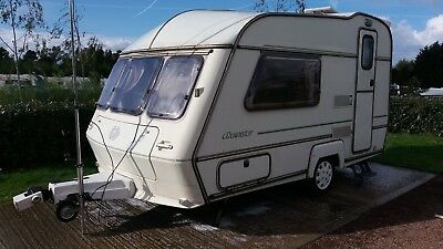 abi dawnstar award 2 berth caravan 1991