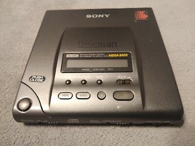 Rare Sony D-303 Discman CD Player - Untested 9/10 condition As Is parts / repair