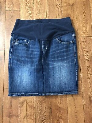 Maternity Jean Skirt From Old Navy, Sz 4