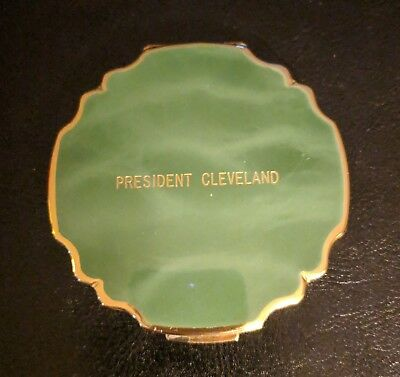 American President's Lines  President Cleveland Souvenir Compact