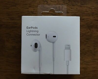 Genuine OEM Quality EarPods with Lightning Connector for iPhone 7 8 X XS XR XMAX