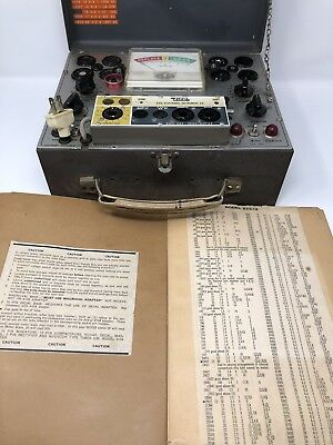 Vintage EICO Model 625 Radio Tube Tester Excellent Working Condition