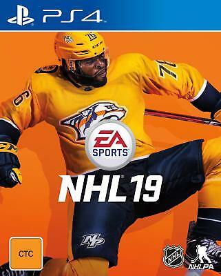 NHL 19 PlayStation 4 PS4 Brand New Game