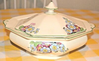 Art Deco serving dish with lid Royal Staffordshire Pottery Wilkinson Ltd 9454F