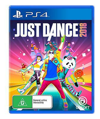 Just Dance 2018 PlayStation 4 PS4 Brand New Game