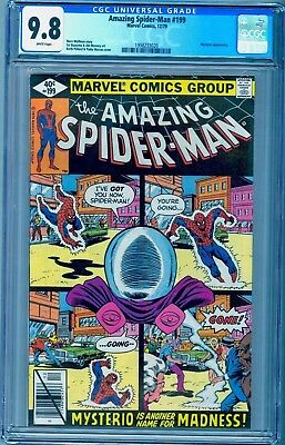 Amazing Spider-Man 199 Cgc 9.8 ~ White Pages ~ Mysterio Cover ~ See Our 66 142