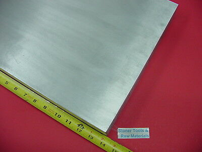 "3/4"" x 12"" ALUMINUM 6061 FLAT BAR 14"" long Solid T6511 Plate Mill Stock"