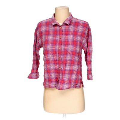 b09216e2421a1c AMERICAN EAGLE OUTFITTERS Women's Button-up Shirt, size XXS, pink ...