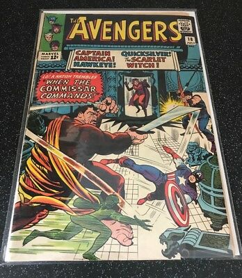 Avengers #18 G/VG condition