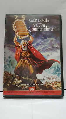 ** The Ten Commandments (DVD) - Cecil B. DeMille - Free Shipping!