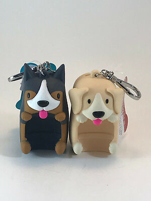CHOOSE Bath & Body Works Max or Scout Dog Pocketbac Holder & Bags