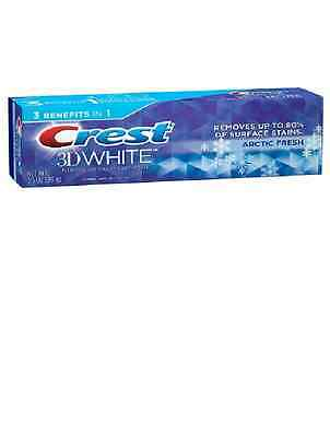 Crest 3D White Paste Arctic Fresh, Icy Cool Mint Whitening Toothpaste 3.5 oz