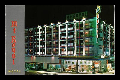 Dr Jim Stamps Us Mt Royal Motel Atlantic City New Jersey Chrome View Postcard
