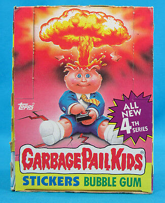 Vintage Garbage Pail Kids 4th Series Box 48 Packs 1986 Topps