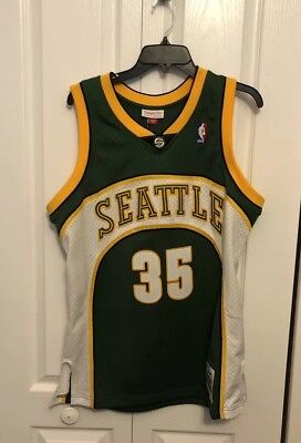 Authentic Kevin Durant  35 Mitchell Ness 07-08 Sonics Jersey Size Medium  Mens 4c02edcbb