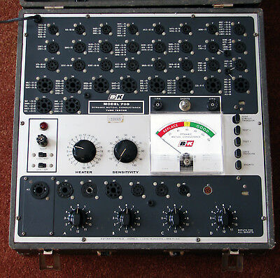 B&K dynamic mutual conductance tube tester Model 700
