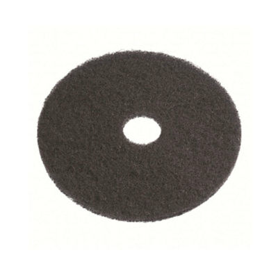 "new CLEANSTAR Regular Speed Polisher Heavy Duty Wet Stripping Pad 300MM -12"" BLK"