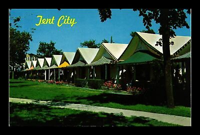Dr Jim Stamps Us Tent City Ocean Grove New Jersey Chrome View Postcard