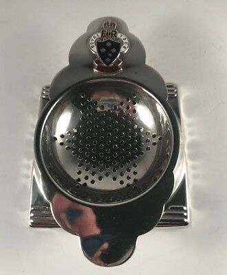 Elizabeth Ii 1954 Royal Tour Of Australia Commemorative Tea Strainer