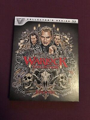 THE WARLOCK COLLECTION Blu-ray US import (rare OOP slipcover)
