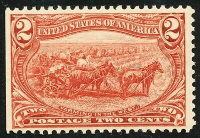 Dr Jim Stamps Us Scott 286 2C Trans Mississippi Unused Og Nh No Reserve