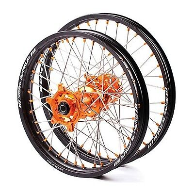SM PRO Motocross wheel set for KTM bike SX and SX-F and EXC-F - brand new!