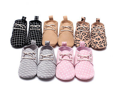 Genuine Leather Animal Mesh Print Girls Baby Shoes Soft Sole First Walker Infant