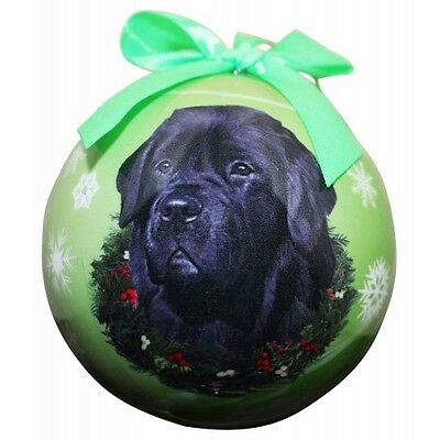 Newfoundland Newfie Shatterproof Ball Dog Christmas Ornament