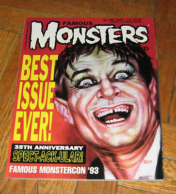 Famous Monsters Of Filmland # 200  May 1993